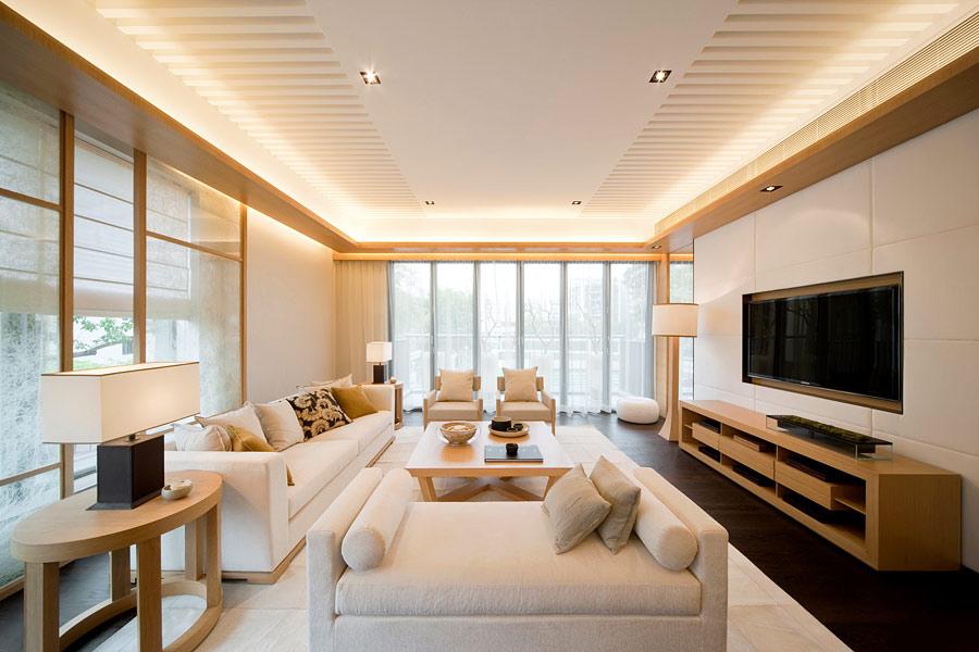Франческа слоновая кость шпон под эмалью в квартире клиента | 600x900