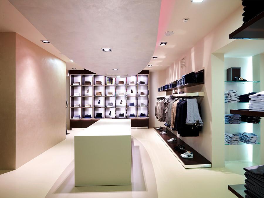 e407edfdda5 Дизайн интерьера магазина мужской одежды